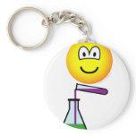 Scientist emoticon   keychains