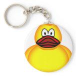 Rubber duck emoticon   keychains