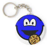 Cookie monster buddy icon   keychains