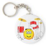 Drumkit emoticon   keychains