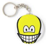 Egg of Columbus smile   keychains