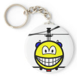 Helicopter smile   keychains
