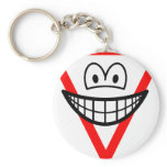 Yield smile   keychains