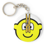 Pegged nose buddy icon   keychains