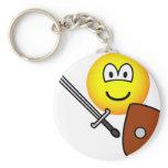 Sword fighting emoticon   keychains