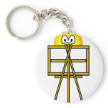 Painter emoticon   keychains