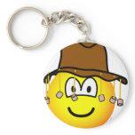Aussie emoticon   keychains