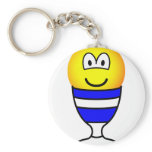 Eggcup emoticon   keychains