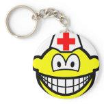 Male nurse smile   keychains