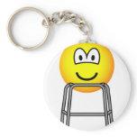 Zimmer frame emoticon   keychains