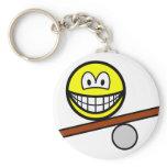 Balance board smile   keychains