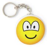 Big eyed emoticon   keychains