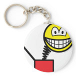 Jack in the box smile   keychains