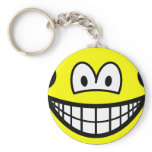 Earless smile   keychains