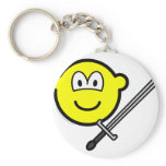 Sword fighter buddy icon   keychains
