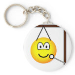 Gong emoticon   keychains