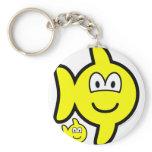 Pisces buddy icon Zodiac sign  keychains