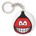 Buoy smile   keychains