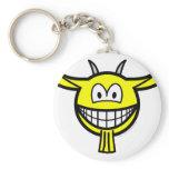 Goat smile   keychains