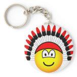 Chieftain emoticon   keychains