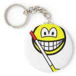 Ice hockey smile   keychains