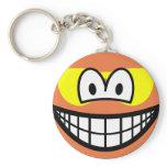Sunburned smile   keychains