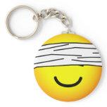 Blindfolded emoticon   keychains