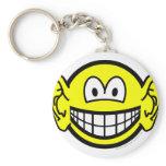Ears smile Big  keychains