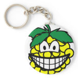 Grapes smile   keychains