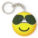 Aviators emoticon Sunglasses   keychains