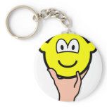 Hand held buddy icon   keychains