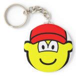Baseball cap buddy icon   keychains