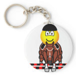 Horse show jumping emoticon Olympic sport Equestrian keychains