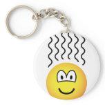 Smelly emoticon   keychains