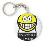 Mugshot smile   keychains