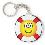 Lifesaver emoticon   keychains