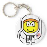 Astronaut emoticon   keychains