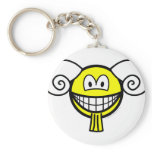 Aries smile Zodiac sign  keychains