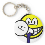 Megaphone smile new  keychains