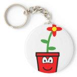 Flowerpot buddy icon   keychains