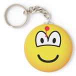 Hit emoticon   keychains