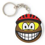 Biker smile muddy  keychains