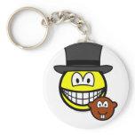 Groundhog day smile shadow  keychains