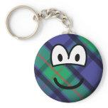 Scottish emoticon   keychains