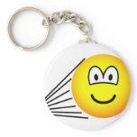 Speeding emoticon   keychains