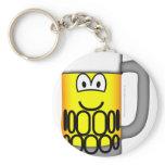 Beer pull emoticon   keychains