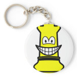 Rook Chess smile  keychains