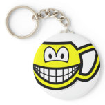 Cup smile   keychains