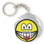 Einstein smile   keychains