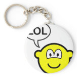 LOL buddy icon  laugh(ing) out loud keychains